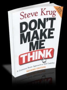 Picture of Steve Krug's Don't Make Me Think